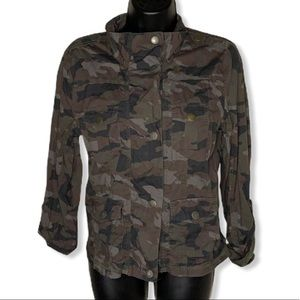Maurices Rolled Camouflage Sleeve Utility Jacket